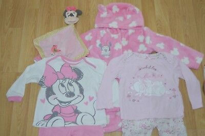 12-18 months Girls Disney Pyjama, dressing gown bundle