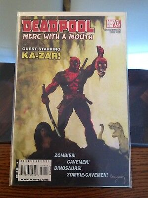 "Key Deadpool Merc With A Mouth 1st Issue ""Savage Tales Homage"" Cover NM"