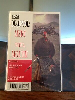 "Deadpool Merc With A Mouth 11 ""Lone Wolf And Cub"" Homage"