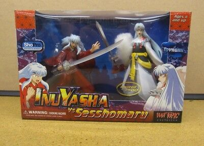 Inuyasha Vs Sesshomaru Hot Topic Exclusive - Limited to 7500 TOYNAMI MIB