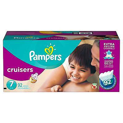 Pampers Cruisers Baby Diapers Size 7, 92 Count CHEAP!!!