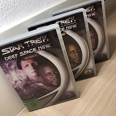 Star Trek - Deep Space Nine / Season 5 + 6 + 7 / Blue-ray Box Sets / Deutsch