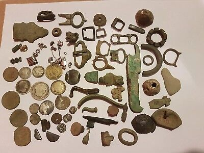 Metal Detecting Finds, Silver, Roman, Medieval, Hammered Coins