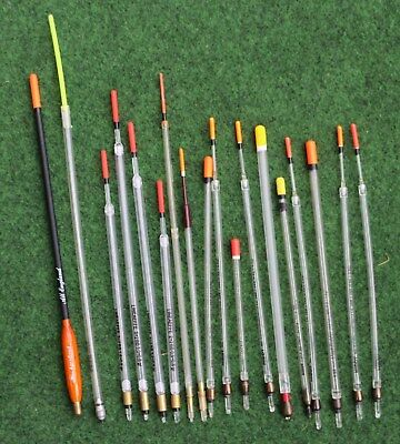 18 Assorted Loaded Wagglers - Middy/map/lineaffe/steadfast