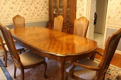 Antique Berndardt Hibriten Dining Room Set