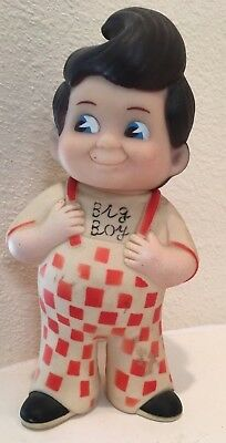 Vintage Kip's Restaurant Big Boy Bank Made In Taiwan