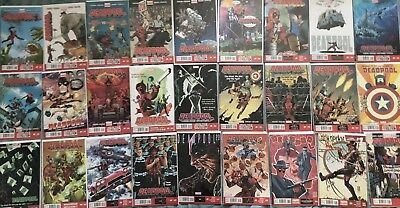 MASSIVE DEADPOOL Lot (27) Marvel Now Comics 2013 1-26 Annual 1 2 3 4 5 6 7 8 9