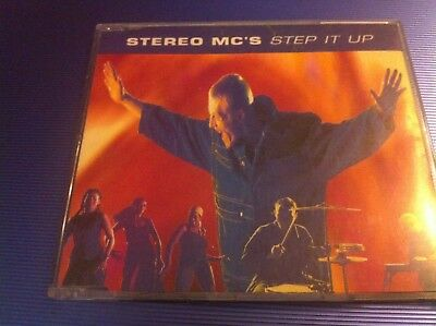 STEREO MCs - STEP IT UP / LOST IN MUSIC - 4 track CD SINGLE