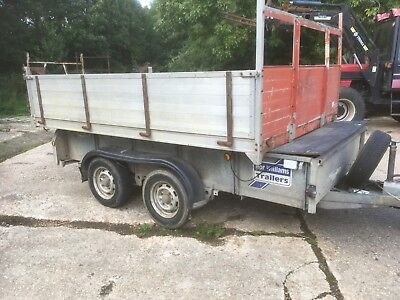 ifor williams tractor car trailer tipper body