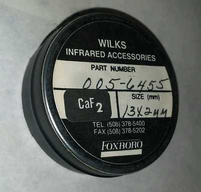 Wilks Infrared Accessories CaF2 Lens Filter 13 x 2 mm Foxboro