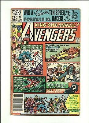 Avengers Annual #10 1st Rogue (X-Men) vs Captain Marvel (Carol Danvers) 1982