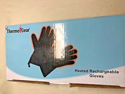 ThermoGear Heated Rechargeable Gloves - Hunt, Ski, Winter Cold!!