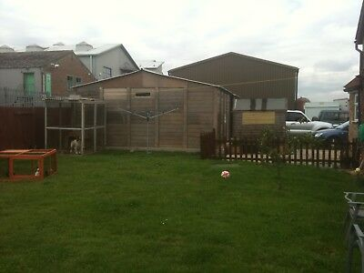 concrete sectional garage 44f X 22f, Security Door Available Separately. Read...