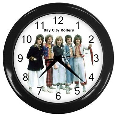 BAY CITY ROLLERS 10 inch 25cm COLLECTIBLE WALL CLOCK 151055572