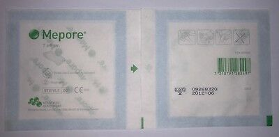 3 no Mepore Self-Adhesive First Aid Dressings