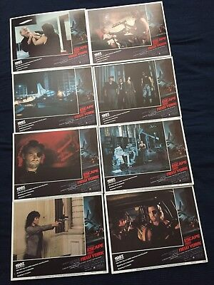 Escape from New York 1981 lobby card set mint condition John Carpenter