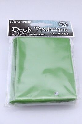 Ultra Pro Deck Protector Sleeves Quantity 50 Green for Collectable Card Games C