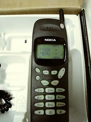 Vintage Nokia 918 Cell Phone in Box with Leather Case, Car and Home Charger!