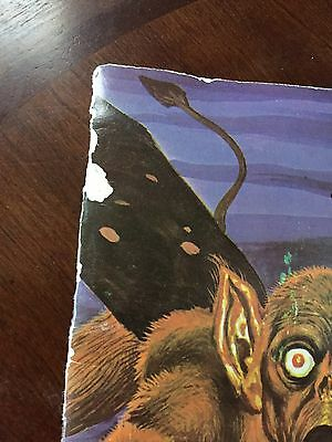1980 RARE 3 Action Monsters - Cyclops, Sticky Tongue Creature, Goblin Halloween
