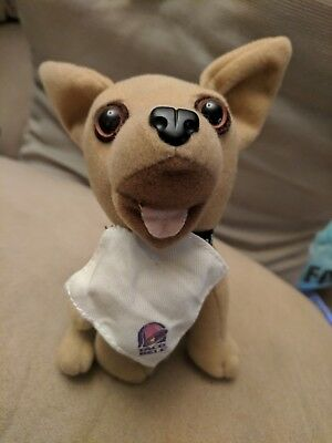"""Taco Bell plush talking dog; Says """"You're getting hungry, very hungry"""""""