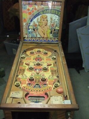 Bally Ballerina Pinball Machine 1948