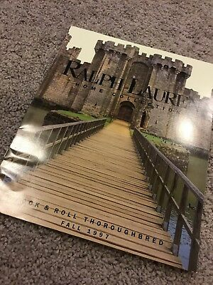 Vintage 1997 Ralph Lauren Country Home Collection Catalog Used