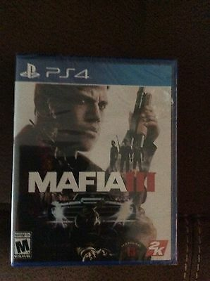 Mafia 3 III (PlayStation 4, PS4) Brand New Sealed!