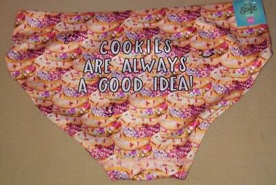 Girl's Size 8/10 Panties Cookies Oh So Sift Bikini by Justice NWT