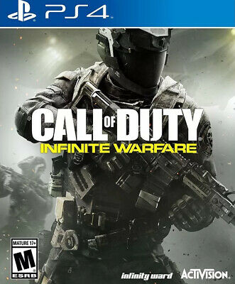 Call of Duty: Infinite Warfare Sony PlayStation 4 PS4 Online Interactive COD