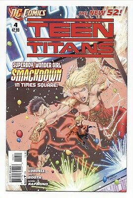 Teen Titans #4 (New 52) DC Feb 2012 NM