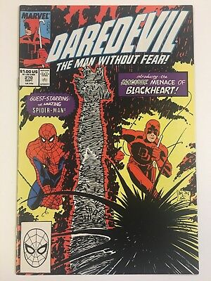 Daredevil the Man Without Fear #270 | Marvel | 1st Blackheart | See Pics