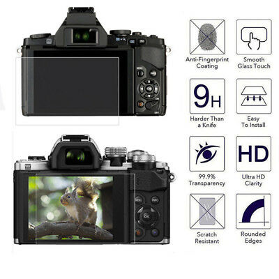 Camera HD Tempered Glass Screen Protector Film for Olympus E-M10 MarkIII PEN-F