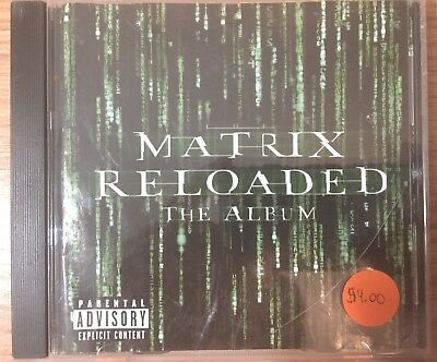 The Matrix Reloaded The Album Soundtrack CD 2003