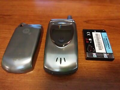Motorola V60t COLOR AT&T Wireless Vintage Cell Phone