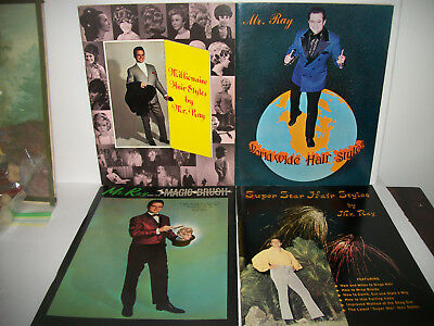 Lot Of 4 Vintage Mr.Ray Hair Styles Magazines 1960's 70's Rare