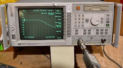 HP 86200A 10-2000 MHz RF Detector w/cable, tested