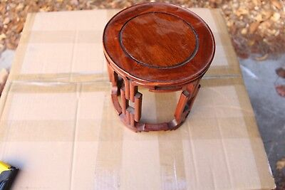 Big Old Chinese hand carving wood display stand