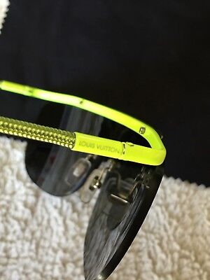 dd102be666 100% Authentic Louis Vuitton Sunglasses Rare Neon With Dust Cover and Hard  Case