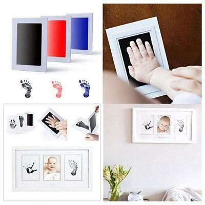 Baby Infant Safe Inkless Touch Footprint Handprint Ink Pad Record Commemorate
