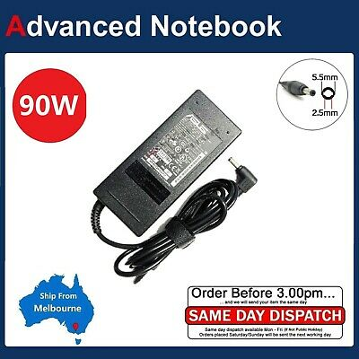 Genuine Original ASUS 19V 4.74A 90W ADP-90SB BB AC Adapter Power Laptop Charger