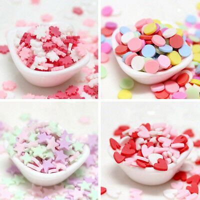 100g Polymer Fake Candy Sweets Simulation Creamy Sprinkles Phone Shell DIY Decor
