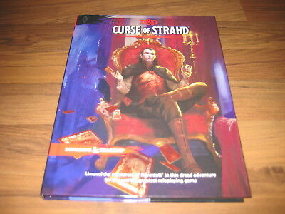 D&D 5th Edition Curse of Strahd Hardcover Adventure WotC 2016 Neu