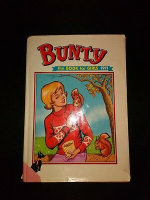Bunty Annual 1971 Retro/Vintage Girls Hardback