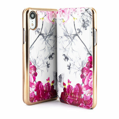 794fe201ba948d TED BAKER® BABYLON Mirror Folio Case for iPhone XR - $34.97 | PicClick