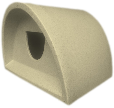 This Week Only £42 Moulded Plastic Outdoor Cat Kennel / Shelter Cat House Cat
