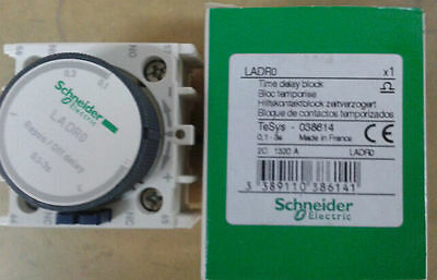 New Schneider Telemecanique Time Delay Block LADR0 LAD R0 0.1-3s  free ship -ll