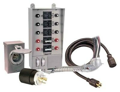 Corporation 31410CRK 30 Amp 10-circuit Pro/Tran Transfer Switch Kit for Generat