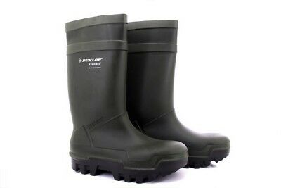 Dunlop Purofort Thermo W263 Complet Sécurité Thermal Résistant Wellingtons