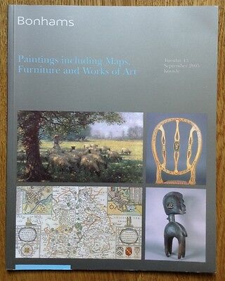 Paintings, Furniture, Works of Art, Tribal Art. Bonhams Auction Catalogue 2005
