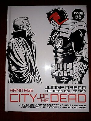 2000AD: JUDGE DREDD THE MEGA COLLECTION -  Is. 56 - CITY of the DEAD - EXCELLENT